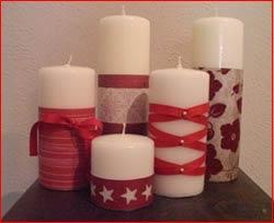 Decorazioni natalizie scopri le decorazioni natalizie - Decorazioni natalizie con candele ...