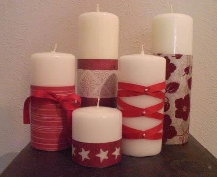 Decorazioni natalizie scopri le decorazioni natalizie - Decorazioni con candele ...